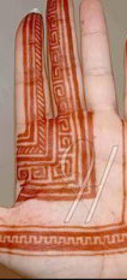 Фото уход за менди (tattoo of henna) (значение) – пример рисунка – 047 tatufoto.com