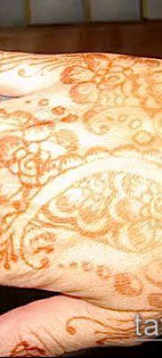 Фото уход за менди (tattoo of henna) (значение) – пример рисунка – 048 tatufoto.com