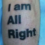 Беркут тату салон Москва - фото пример готовой татуировки - портфолио салона 2