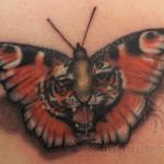 Беркут тату салон Москва - фото пример готовой татуировки - портфолио салона 3