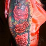 Беркут тату салон Москва - фото пример готовой татуировки - портфолио салона 6