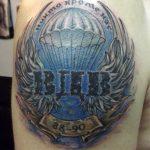 Ворон - тату-студия - Москва - фото готовой татуировки - пример работы - портфолио 1