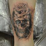 Ворон - тату-студия - Москва - фото готовой татуировки - пример работы - портфолио 2