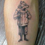 Ворон - тату-студия - Москва - фото готовой татуировки - пример работы - портфолио 3