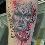 Ворон - тату-студия - Москва - фото готовой татуировки - пример работы - портфолио 4