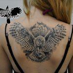 Ворон - тату-студия - Москва - фото готовой татуировки - пример работы - портфолио 5