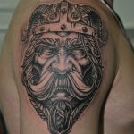 Ворон - тату-студия - Москва - фото готовой татуировки - пример работы - портфолио 6