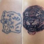 Гамлет - тату салон Москва - фото пример готовой татуировки - портфолио 5