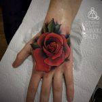 Дом Элит Тату - салон тату в Москве - фото пример готовой татуировки - портфолио 1