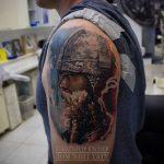 Дом Элит Тату - салон тату в Москве - фото пример готовой татуировки - портфолио 3