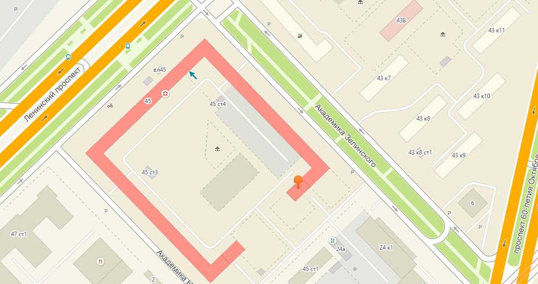 Дом Элит Тату - салон тату в Москве - фото расположения на карте - проезд