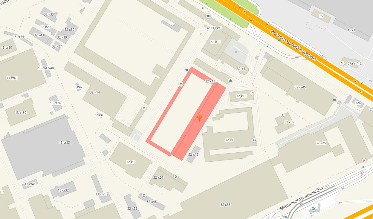 ЗАБИТЫЕ тату студия в Москве - фото расположения на карте - как проехать