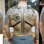 Звезда - студия татуировки в Москве - фото работы мастера студии - портфолио готовых татуировок 3