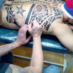 Звезда - студия татуировки в Москве - фото работы мастера студии - портфолио готовых татуировок 4