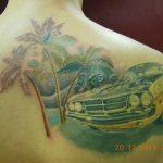 Звезда - студия татуировки в Москве - фото работы мастера студии - портфолио готовых татуировок 6
