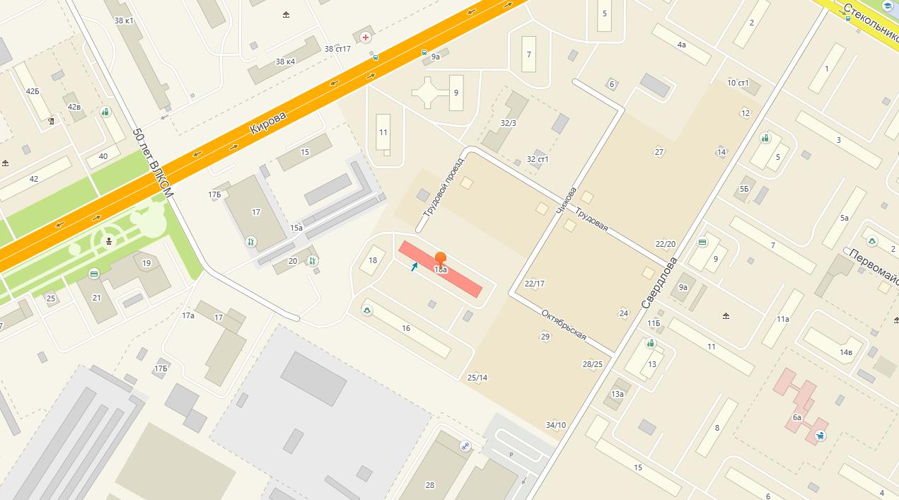 Звезда - студия татуировки в Москве - фото расположения на карте - как проехать