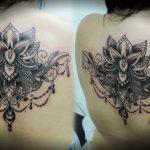 Империя ТАТУ - салон татуировки в Москве - фото готовой работы мастера салона - портфолио татуировок 1