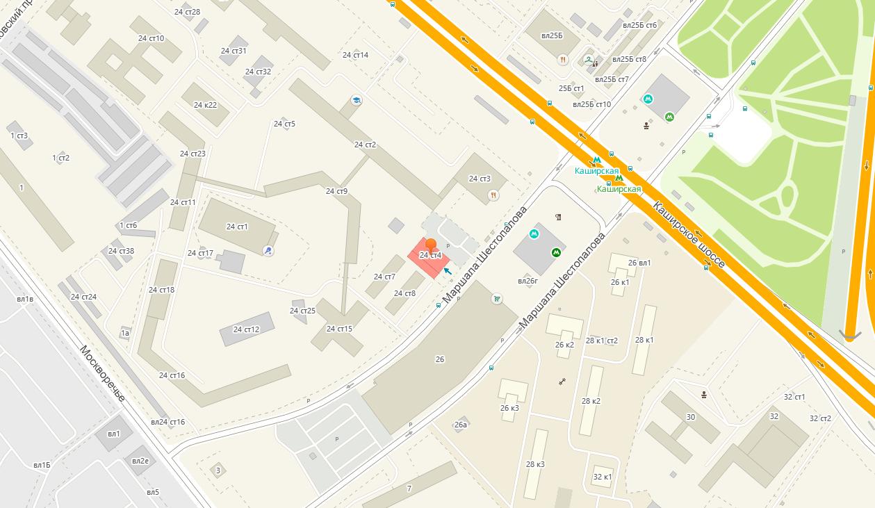 Клуб-Тату - салон тату в Москве - место расположения на карте - как проехать