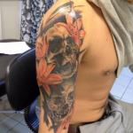 Клуб-Тату - салон тату в Москве - фото пример работы мастера студии - портфолио татуировок 3