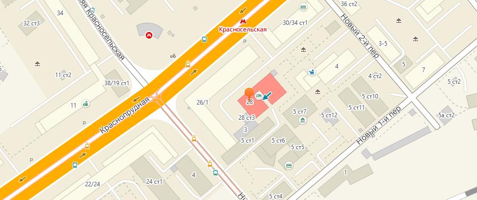 Найти расположение на карте - Анатомия тату - тату салон в Москве