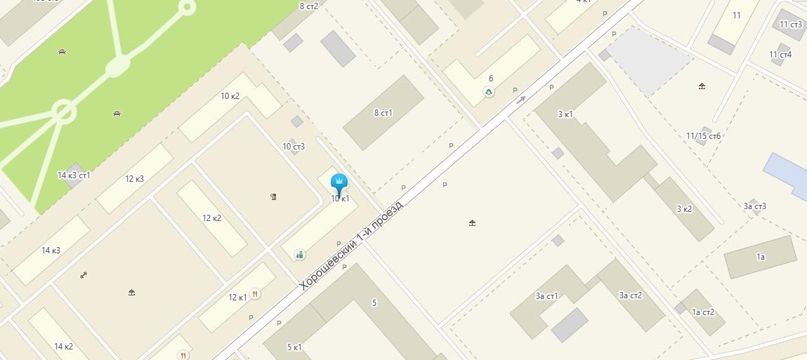 Найти расположение на карте - Тату 3000 - тату салон в Москве