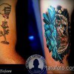 Фото Исправление и перекрытие старых тату - 12062017 - пример - 007 tattoo cover up