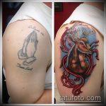 Фото Исправление и перекрытие старых тату - 12062017 - пример - 011 tattoo cover up