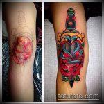 Фото Исправление и перекрытие старых тату - 12062017 - пример - 013 tattoo cover up