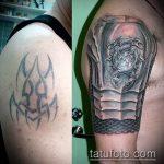 Фото Исправление и перекрытие старых тату - 12062017 - пример - 015 tattoo cover up