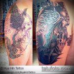 Фото Исправление и перекрытие старых тату - 12062017 - пример - 022 tattoo cover up