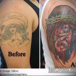 Фото Исправление и перекрытие старых тату - 12062017 - пример - 025 tattoo cover up