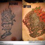Фото Исправление и перекрытие старых тату - 12062017 - пример - 026 tattoo cover up