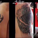 Фото Исправление и перекрытие старых тату - 12062017 - пример - 039 tattoo cover up