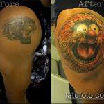 Фото Исправление и перекрытие старых тату - 12062017 - пример - 040 tattoo cover up