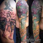 Фото Исправление и перекрытие старых тату - 12062017 - пример - 042 tattoo cover up