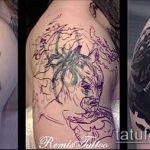 Фото Исправление и перекрытие старых тату - 12062017 - пример - 045 tattoo cover up