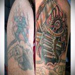 Фото Исправление и перекрытие старых тату - 12062017 - пример - 059 tattoo cover up