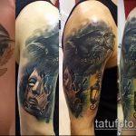 Фото Исправление и перекрытие старых тату - 12062017 - пример - 067 tattoo cover up