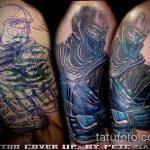 Фото Исправление и перекрытие старых тату - 12062017 - пример - 068 tattoo cover up