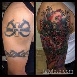 Фото Исправление и перекрытие старых тату - 12062017 - пример - 085 tattoo cover up