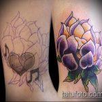 Фото Исправление и перекрытие старых тату - 12062017 - пример - 091 tattoo cover up