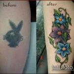 Фото Исправление и перекрытие старых тату - 12062017 - пример - 101 tattoo cover up