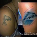 Фото Исправление и перекрытие старых тату - 12062017 - пример - 105 tattoo cover up