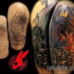 Фото Исправление и перекрытие старых тату - 12062017 - пример - 106 tattoo cover up