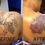 Фото Исправление и перекрытие старых тату - 12062017 - пример - 112 tattoo cover up