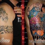 Фото Исправление и перекрытие старых тату - 12062017 - пример - 115 tattoo cover up