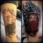 Фото Исправление и перекрытие старых тату - 12062017 - пример - 117 tattoo cover up