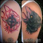 Фото Исправление и перекрытие старых тату - 12062017 - пример - 121 tattoo cover up