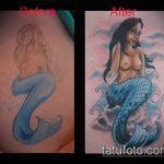 Фото Исправление и перекрытие старых тату - 12062017 - пример - 129 tattoo cover up
