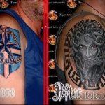 Фото Исправление и перекрытие старых тату - 12062017 - пример - 134 tattoo cover up